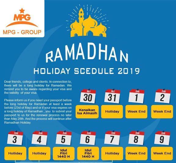 Visa Service Bali Ramadan 2019