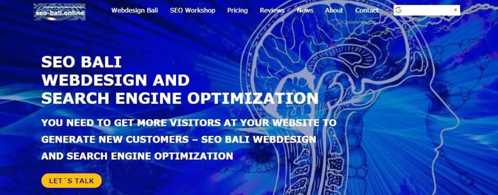 Webdesign SEO Bali Partner MPG Group