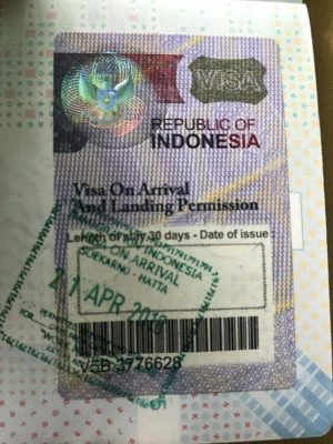 VISA ON ARRIVAL BALI (VoA) - What you need to enter Bali